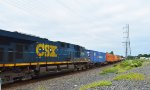 CSX 5246 & TTAX 556882 with Container